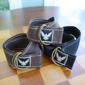 ⭐ 5 for $25 Three Falcon Adjustable Belts Youth